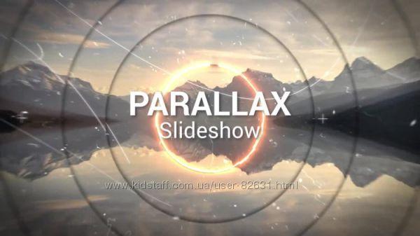 Современное параллактическое слайд-шоу