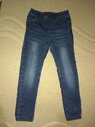 джинсы на трикотажной подкладке, С&А Кунда 128р