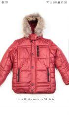 Акция Куртка на мальчика KIKO рост 122, 128, 134, 140