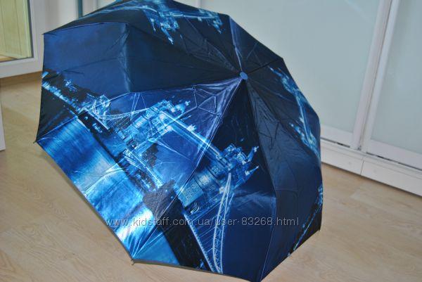 Женский зонт с городами на 9 спиц от фирмы Lantana