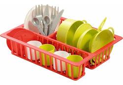 Набор посуды с сушилкой Ecoiffier 000606