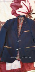 Модный пиджак т. синего цвета рост 164