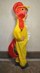 карнавальный костюм петушок рост 100-110 см