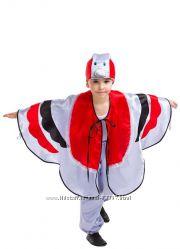 карнавальный костюм снегирь рост 110-120 см