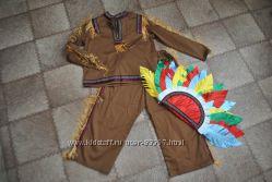 новый костюм индеец размер 110-116 см