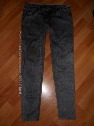 Леггинсы, лосины с имитацией под  джинсы NEW LOOK