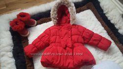 Красивая модная курточка на малышку 1годик