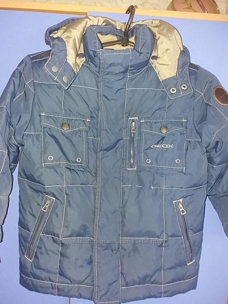 Демисезонная куртка  на мальчика Джеокс, рост 110-116