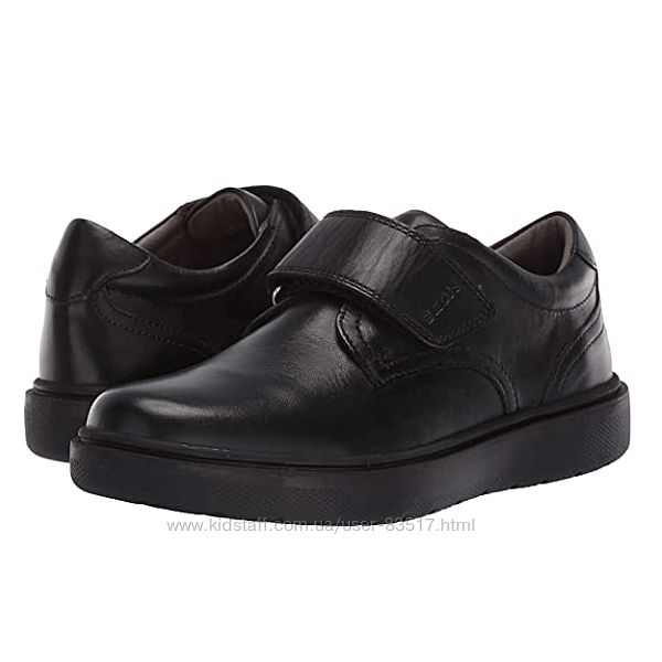 Кожаные туфли подростку Geox J Riddock 40р. Оригинал.