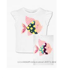 Красивые футболки для девочек с немецкого каталога Cunda