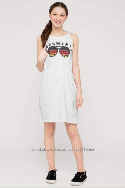 Хлопковые летние платья с немецкого каталога C&A Cunda по смешной цене