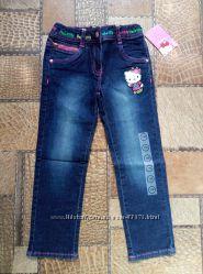 Классные джинсики Hello Kitty, р. 110