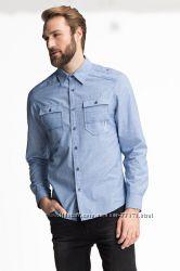Фирменная хлопковая рубашка С&A