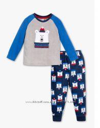 Фирменные флисовые пижамы-костюмы C&A Германия