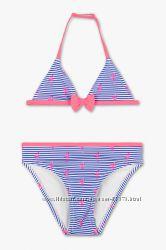 Фирменный купальник C&A Rodeo розовый фламинго