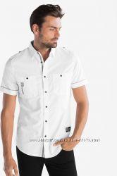 Фирменная белая рубашка Casual от C&A