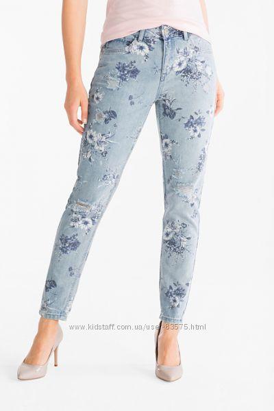 Фирменные рваные джинсы Girlfriend Jeans C&A