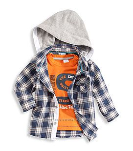 Хлопковые комплекты C&A рубашка и реглан