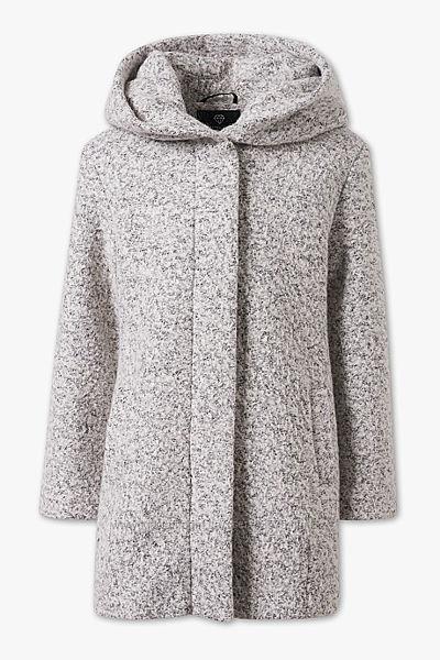 Фирменное полушерстяное пальто С&A Германия