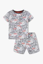 Летняя хлопковая пижама динозавры C&A