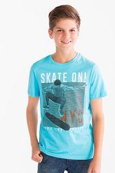 Красивая хлопковая футболка C&A