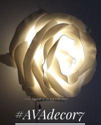 Светильник - роза