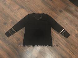 Лёгкий женский свитерок черного цвета
