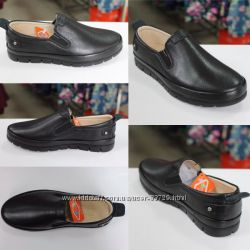 Туфли-мокасины из натуральной кожи для мальчиков от Tiflani размер 36