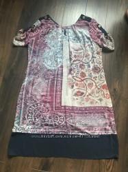 Стильное шифоновое платье размер 50
