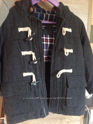 теплое шерстяное пальто AUTOGRAPH на холодную осень 5-7 лет