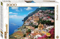 Пазл Италия. Побережье Амальфи, 2000 элементов