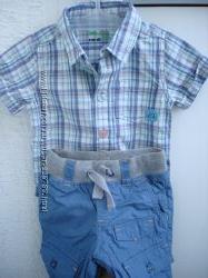 Костюмчик штанишки и рубашка-бодик фирмы Cool club