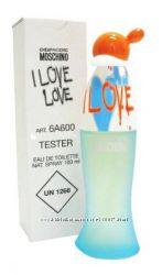 Moschino I Love Love туалетная вода оригинал тестер 100 мл