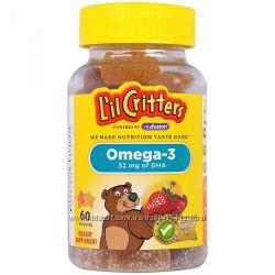 Детская омега 3 L&acuteIL CRITTERS Omega 3 США