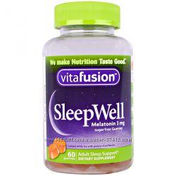 VitaFusion, SleepWell, улучшающее сон для взрослых, 60 шт