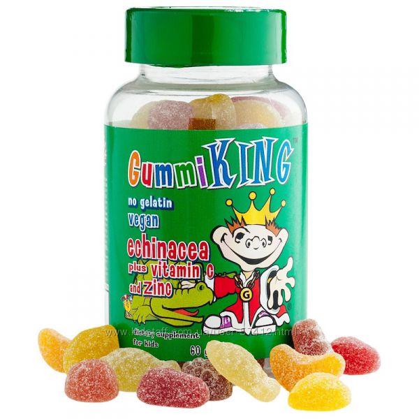 Gummi King, Эхинацея с витамином С и цинком, в наличии