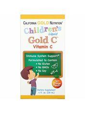 Детский жидкий витамин С  California Gold Nutrition, 118 мл, США