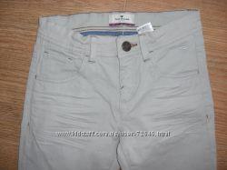 Летние светлые нарядные джинсы Tom Tailor
