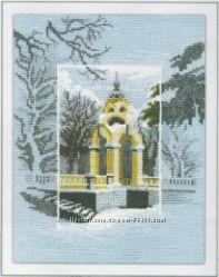 Набор для вышивания крестиком Чарівна Мить Заснеженный город