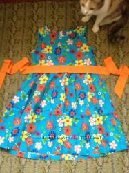Продам яркое летнее платье