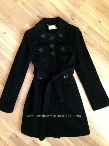 Пальто KAREN MILLEN классика. Шерсть. Оригинал