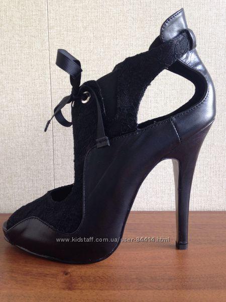 Шикарные открытые туфли LOVELY PEOPLE