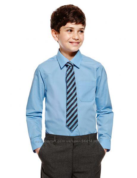 Школьные рубашки Marks&Spencer , George