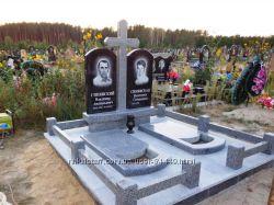 Памятники для двоих из гранита