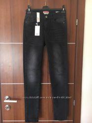 Женские фирменные джинсы Castro р. 38 черные