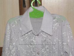 Школьная нарядная блузка на 1-3 класс
