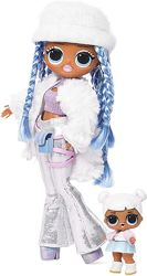 Кукла ЛОЛ омг Снежный Ангел LOL Surprise OMG Winter Disco Snowlicious