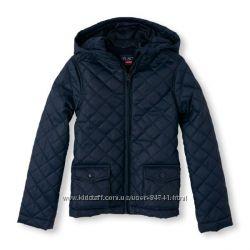 Школьная стеганая куртка Childrens Place, р. 7-8 л.