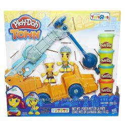 Набор Play-Doh Town Power Crane, строительный кран. Оригинал.