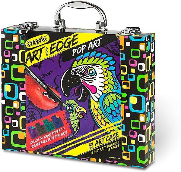 Набор для рисования в чемодане Crayola Art with Edge Coloring Book. Оригина